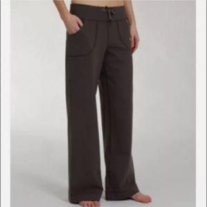 Lululemon Women's Tall Wide Leg Brown Still Pant